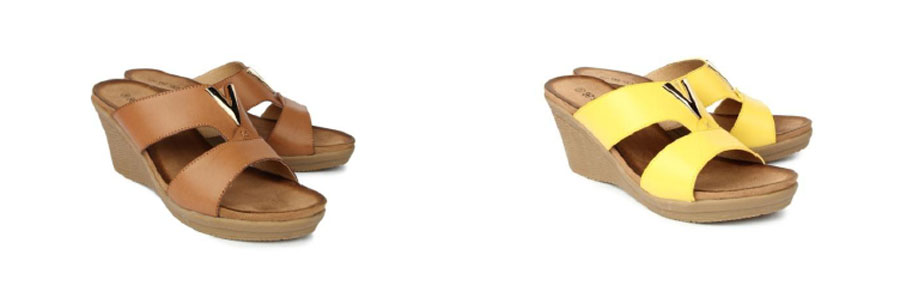 Avail this extremely comfortable and soothing collection of wedge heelsfrom Senorita by Liberty.