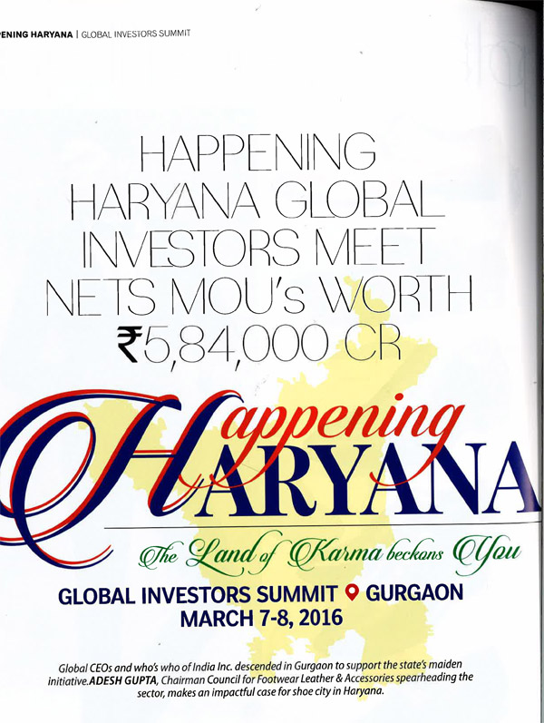 Haryana Global Investors Meet
