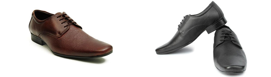 Avail this suave and opulent collection of formal leather shoes from Liberty.