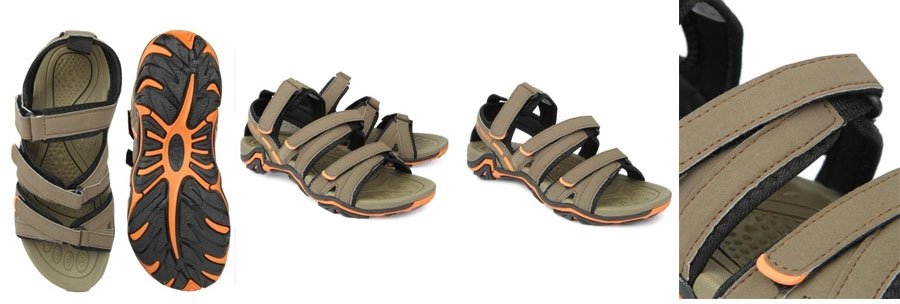 Appropriate for this monsoon season, avail these terrain sandals from Liberty.