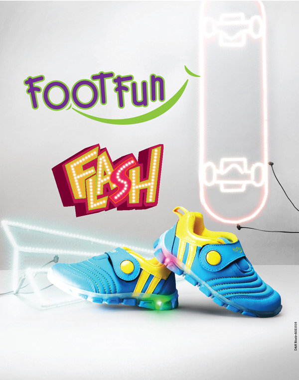 Avail a flambyount collection of casual shoes and add that extre edge of style with Flash by Footfun