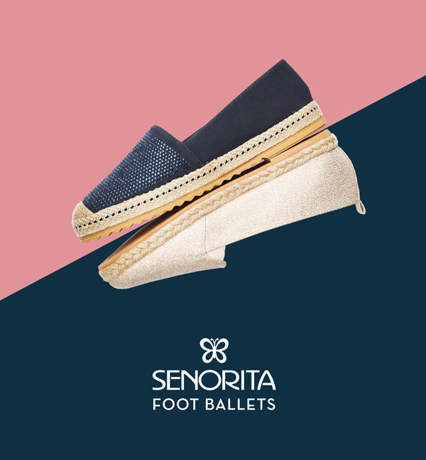 Exhibit some spark with a dazzling new collection of fashion ballet by Senorita