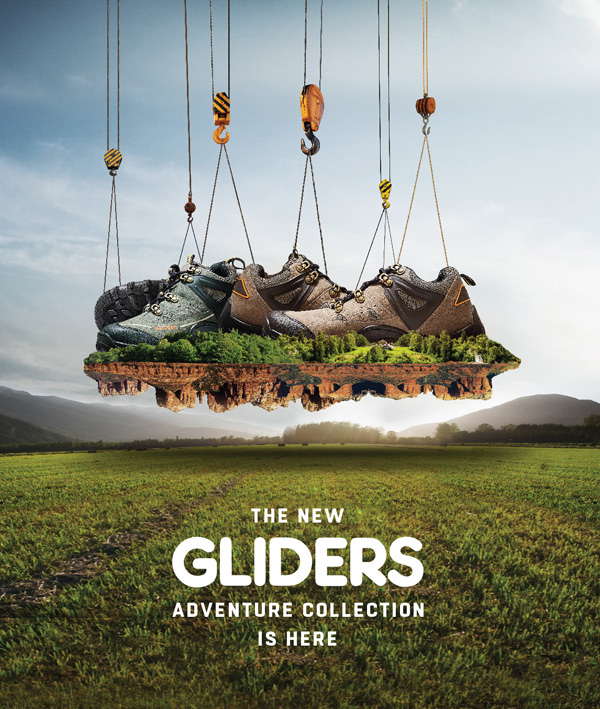 Get ready for some adventure in your life with these pair of modish yet robust shoes by Glidders