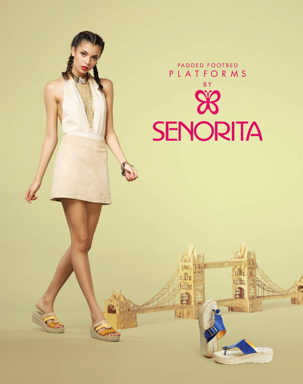 A perfect blend of style & comfort, padded platforms by Senorita; a must in your wardrobe.