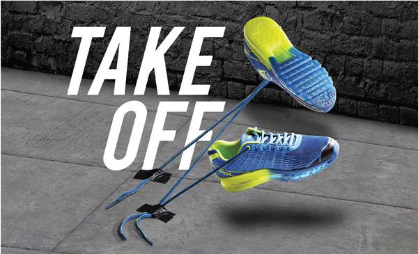 Strengthen your fitness spirit with all new Zeppline sports shoes by Force10