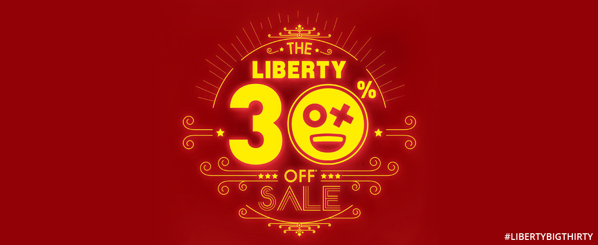 Liberty 30% off sale