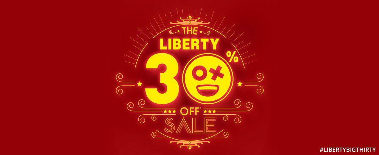 Liberty 30% off sale