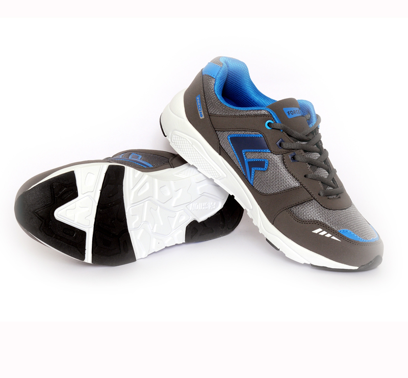 These shoes have upper made of woven material and the sole is manufactured using PU sole.