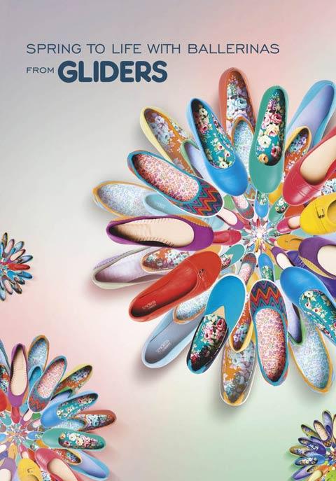 Gliders Ballerinas AW14