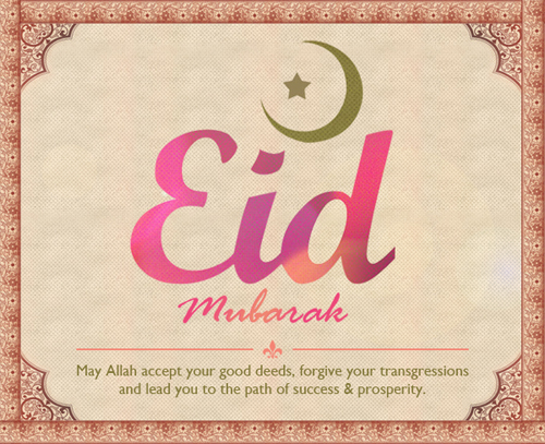 Happy Eid Folks!