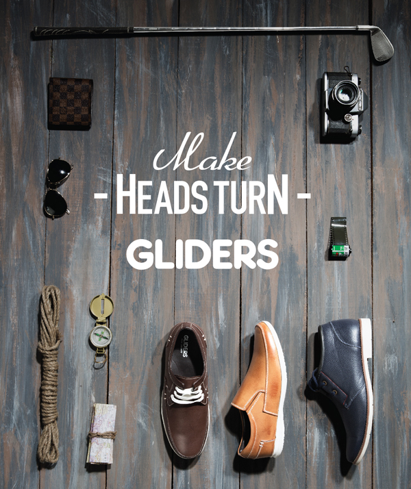 Liberty Group evinces the pristine collection of casual leather shoes from Gliders which is bound to make heads turn.