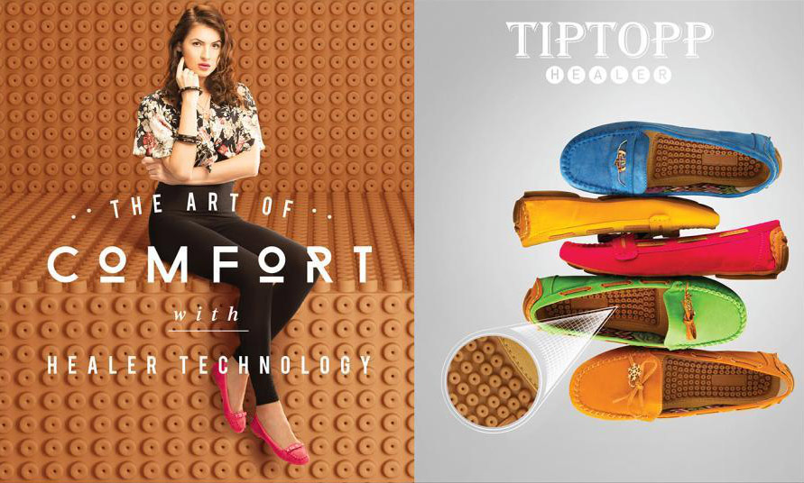 Tiptop Ballerinas With The Healer Technology