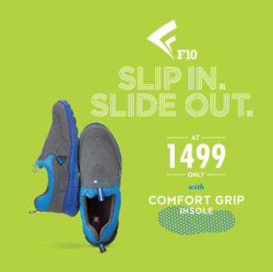 Treasure these winters with the new slip in slide out shoes from Force 10 by Liberty shoes