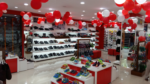 Liberty shoes exhibits its voguish and congenial footwear collection by opening a store on Chennai bridge road