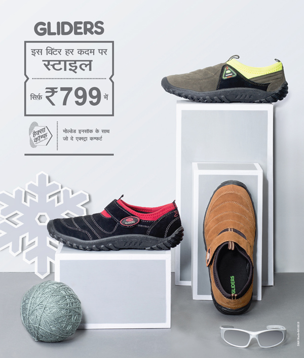 Treasure these winters with the new Hot shot slip on from Gliders by Liberty Footwear