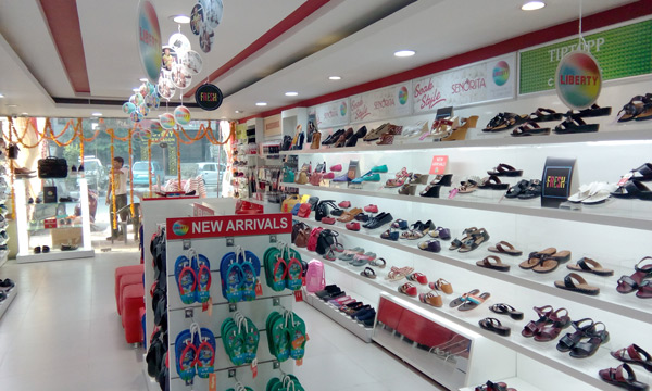Liberty footwear launches an exclusive showroom in the high street marketplace area of Janakpuri, New Delhi exhibiting its captivating footwear collection