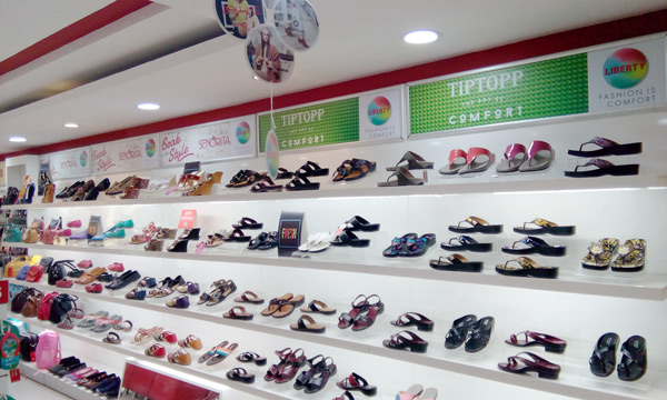 Liberty shoes launches an exclusive showroom in Model town, Haryana exhibiting it's fashionable and frisky footwear collection