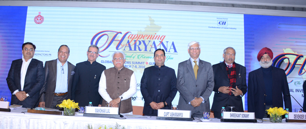 Happening Haryana Road show & Interaction with Chief Minister, Haryana
