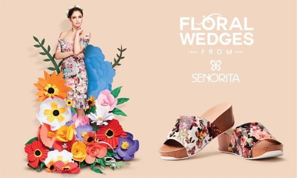 Evince and maneuver your style statement with Liberty's floral platforms this summer