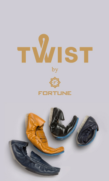 Liberty shoes exhibits its collection of Twist shoes by Fortune: A range of foldable formal shoes