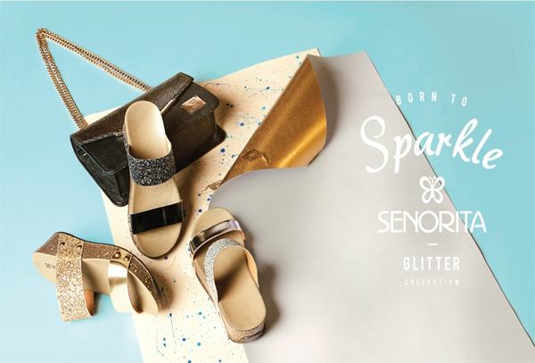 Disseminate your dazzle with Liberty's collection of sparkle platforms from Senorita: Exhibit your effervescence