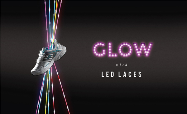 Glow with LED laces by Liberty shoes: Excite yourself this spring summer season with Liberty's unprecedented collection of LED laces