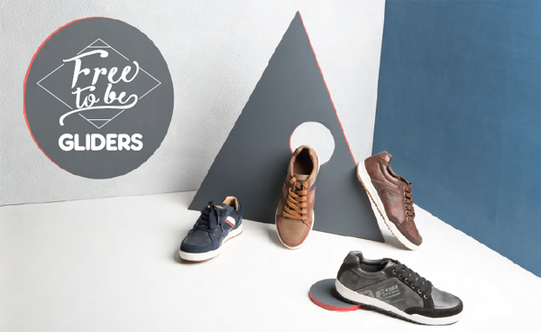 Rekindle your souls with this spruce and dapper collection of casual shoes from Gliders by Liberty shoes