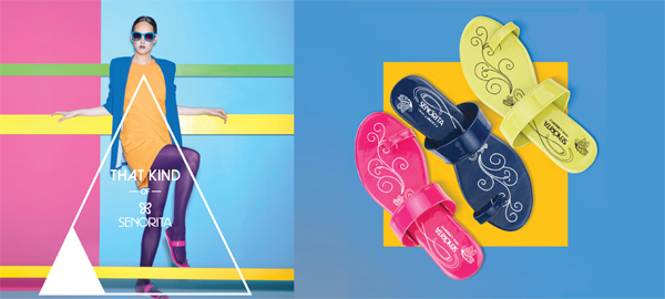 Liberty shoes exhibits its congenial collection of thongs and sandals from Senorita to ornament your appearance