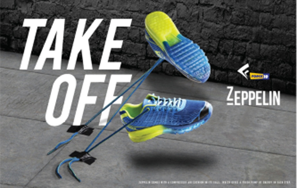 Liberty shoes launches its exclusive collection of sport shoes with High frequency seamless welding from Zeppelin by Force 10: Take off with this frisky collection!
